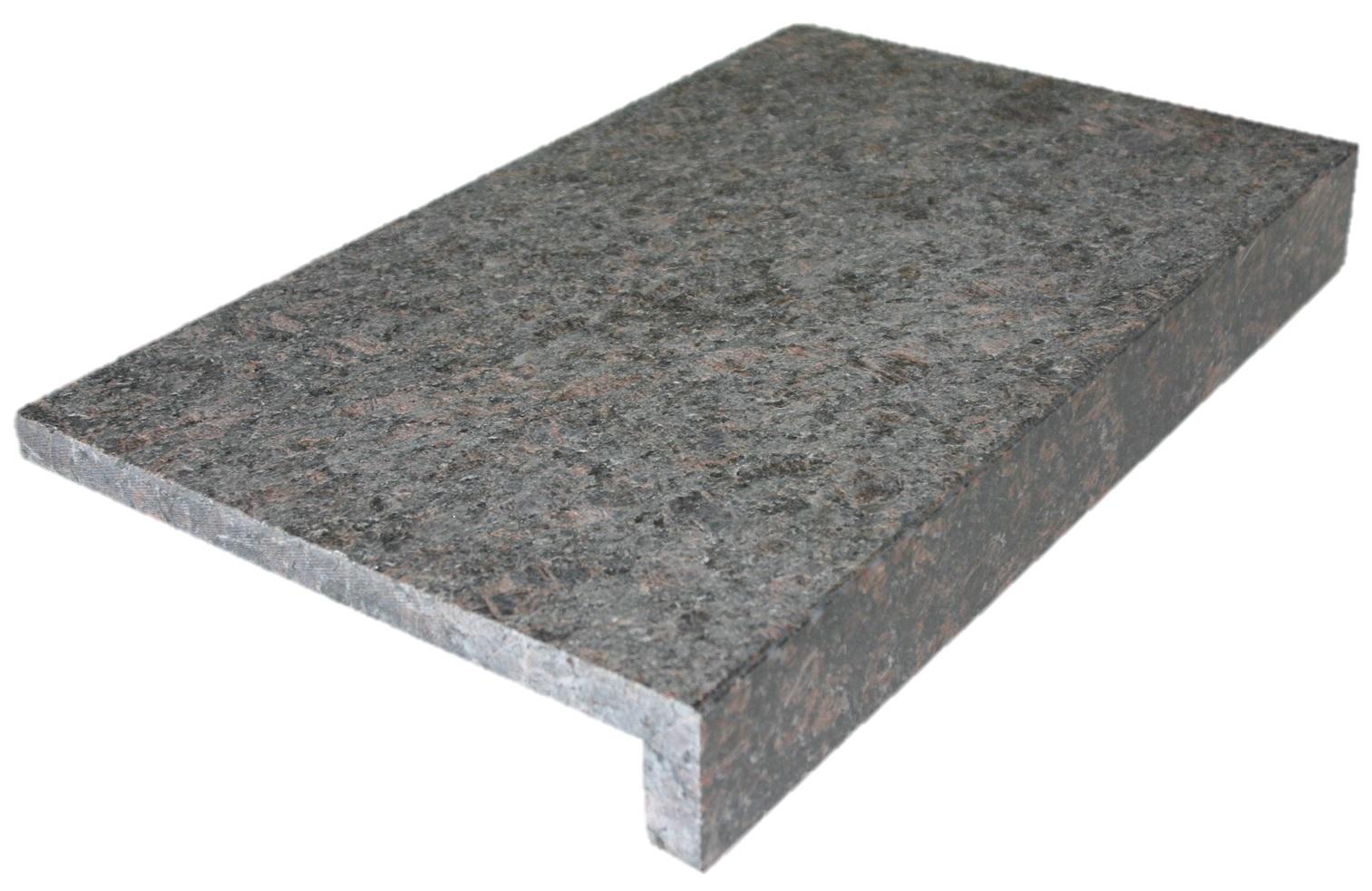Beckenrandsteine granit mit nase