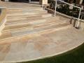 Quarzit gelb Treppe