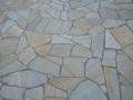 Quarzit gelb Polygonalplatten