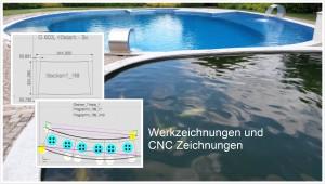 Werkzeichnungen und CNC Zeichnungen
